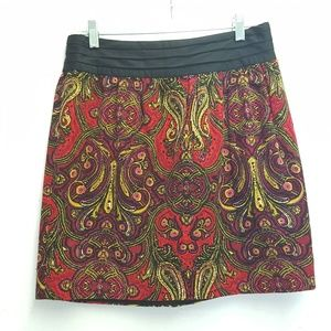 Anthropologie Idra Whizbang Paisley Skirt 4